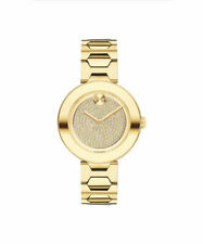 Movado Bold Pave Crystal Dial Ladies Watch 3600492