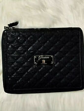 GUESS IPAD TABLE CASE 2nd & 3rd GENERATIONS. SHINY BLACK W TWO POSITIONS SETTING