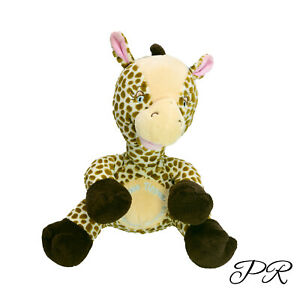 Tommee Tippee Giraffe Washed Clean Plush Soft Stuffed Toy 28cm Embroidered Eyes