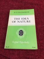 The Idea Of Nature R G Collingwood 1965