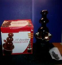 "21"" CHOCOMAKER - 3 Tier Chocolate Fountain"
