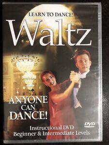 Learn to Dance Waltz - Instructional Beginner & Intermediate Level DVD Brand N