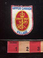 Upper Canada Village Heritage Park Tourist Attraction Ontario Canada Patch C713