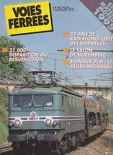 VOIES FERREES N°88 SIGNAUX PLM / SNCF MAT MOTEUR 1995 / 21 000 / 68000 - 68500