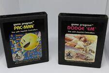 L@@K 4 ATARI Games Lot (Dodge Em - astroids - pac-man - combat)