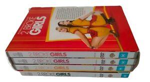 2 Broke Girls Seasons 1-4 DVD Region 4  Season 1,2,3 & 4