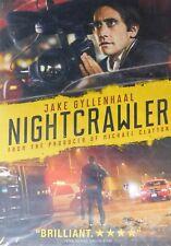 NIGHTCRAWLER (2014) Jake Gyllenhaal Rene Russo Riz Ahmed Bill Paxton SEALED