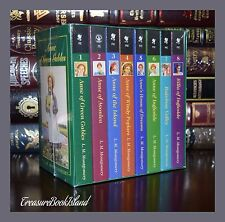 Complete Anne of Green Gables by L.M. Montgomery New Sealed 8 Volume Gift Set