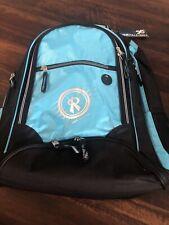 New Rox Advantage Hawaii Volleyball Backpack Bookbag Black Light Blue