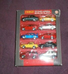 TESCO REALTOY DIECAST (2005) - MULTI PACK OF 10 VEHICLES