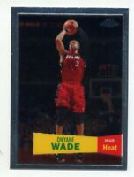 2008-09 Topps Chrome DWYANE WADE RARE 1957 RETRO CARD #3 Miami Heat HOF dwayne
