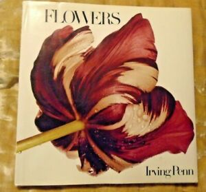 IRVING PENN - FLOWERS      BOOK - FIRST EDITION