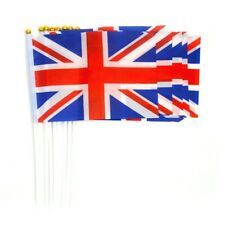 Union Jack Flag Small Hand Waving 5-40 Party Event Britain UK GB Celebration