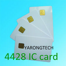 Smart Contact IC Card SLE4428 Chip White ISO7816 - 10pcs