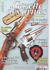 GAZETTE DES ARMES N°335 FUSILS DE MARINE BARANOFF MOD. 1869 /CHASSEPOT DE MARINE