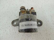 01 SUZUKI LT-160 LT160 LT 160 QUAD RUNNERSTARTER SOLENOID START BLOCK B