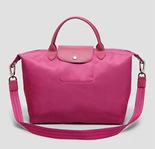 Longchamp Le Pliage Neo Tote Shoulder Bag In Hydrangea