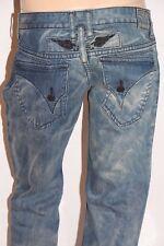 New Men's ROBIN'S JEAN sz 38 #D5698 Long Flap -Slim Straight Jeans -T117c