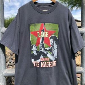VTG 2000 Rage Against The Machine Renegades Battle of Los Angeles Band T Shirt X