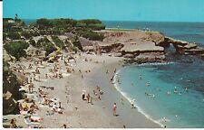 """The La Jolla, California Cove Ocean Beach & Swimmers"" Postcard California"