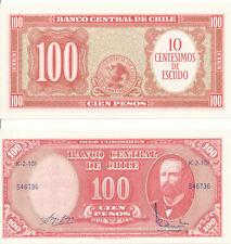 Chile - 10 centimos a 100 pesos 1960-1961 UNC-pick 127