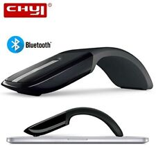 Bluetooth Foldable Wireless Mouse Folding Arc Touch Mouse 1200DPI Optical PC