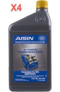 4 Quarts Automatic Transmission Fluid OEM AISIN ATF-SP4