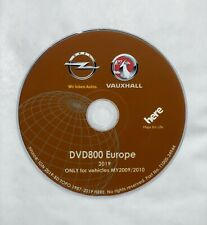 ORIGINAL OPEL NAVI DVD800 MY2009/2010 Europe VERSION 2019