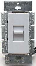 Lutron Lumea Lg-600-Wh 600Ph Single-Pole Slide-to-Off Dimmer Light Switch White