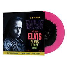 Danzig Sings Elvis Limited Ed. Gatefold Jacket PINK/BLACK HAZE Vinyl LP