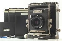 【 N MINT 】 Ebony New WIDE 45 4x5 Camera + Grandagon 75mm f/6.8 Lens from JAPAN