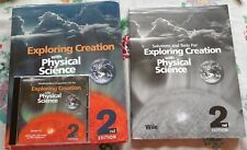 Exploring Creation with Physical Science Apologia 2nd Ed. Text Tests Key CD Wile