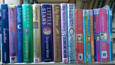 JACQUELINE WILSON: collection of 19 children's fiction books