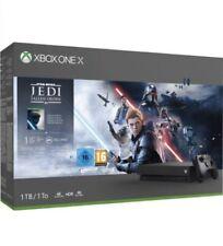 CONSOLE MICROSOFT XBOX ONE X 1TB +Star Wars Jedi Fallen Order NUOVA