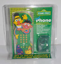 SESAME STREET BERT AND ERNIE TELEPHONE FROM 1997  REAL CORDED PHONE!