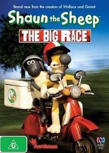 19🆕sealed-Shaun The Sheep - The Big Race (DVD) Australia Region 4