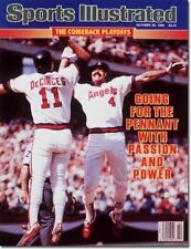 October 20 1986 Doug DeCinces & Bobby Grich Angels Sports Illustrated NO LABEL