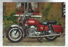 CARTOLINA  originale moto motorbike moto guzzi 850 gtv 2 cilindri 190 km h
