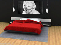 3 Sizes - MARILYN MONROE PRINT On CANVAS Home Wall Decor Art Movie Star Design