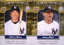 f83ccb4f4d9 ALL STAR GAME 2008 NEW YORK YANKEE LEGACY UNCUT CARD SHEET 1 - MARIANO  RIVERA