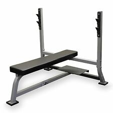 Valor Fitness Olympic Bench With Spotter Flat Position Bench BF-7 New