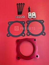 Throttle Body Spacer(Red) for 05-13 FRONTIER/XTERRA/05-12 PATHFINDER