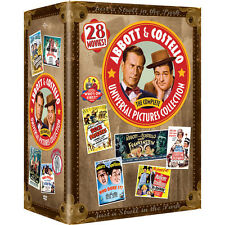 Abbott & Costello: The Complete Universal Pictures DVD Boxed Set Collection NEW!