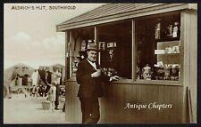 More details for c.1930 stanley aldrich tea stall south beach southwold suffolk postcard h928