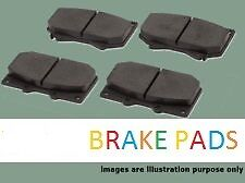 Jaguar x type 2.5/3.0 front brake pads (dp11425) (01 - 09)