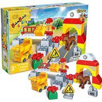 BanBao Bridge Builder 34 Piece Childrens Boys Construction Playset 3+ BB9663.00