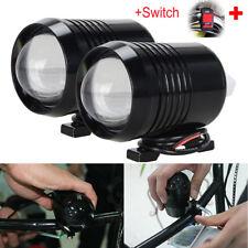 2 x30W Motorcycle CREE U2 LED Driving Headlight Fog Lamp Spot Light For BMW +SW