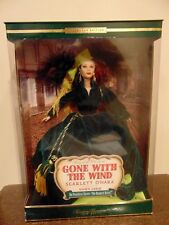 Scarlett O'Hara Barbie Doll Gone with the Wind Timeless Treasures Drapery Dress