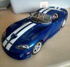 Burago model cars 1:18 1996 Dodge Viper GTS Coupe