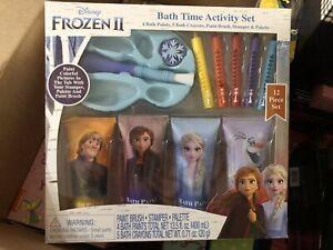 frozen bath time activity set